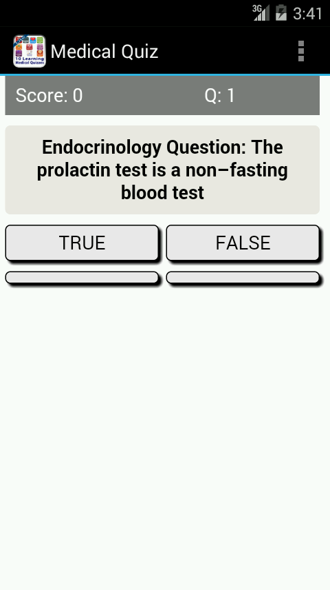 10 Learning Medical Quizzes +- screenshot