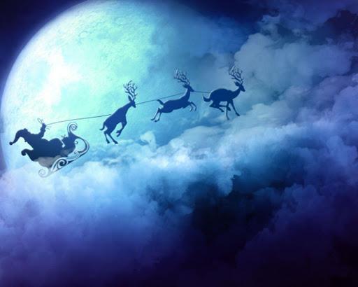 聖誕老人動態壁紙