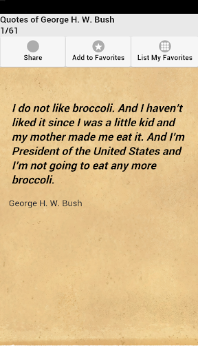 Quotes of George H. W. Bush