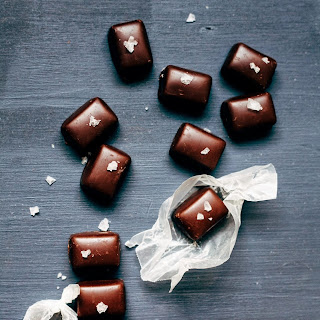 Double Chocolate Caramels with Sea Salt