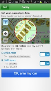 GPS Car Track (SilentCarAlarm)- screenshot thumbnail