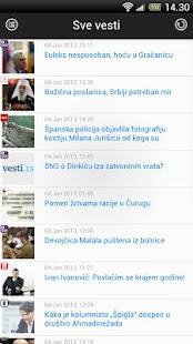Vesti RS- screenshot thumbnail