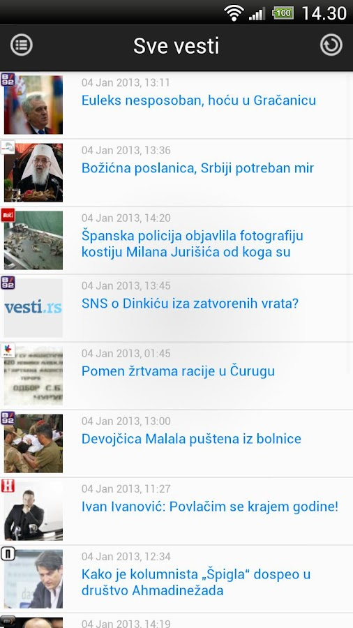 Vesti RS- screenshot