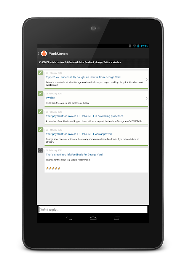 PeoplePerHour - screenshot