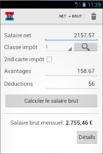calcul salaire luxembourg applications android sur play
