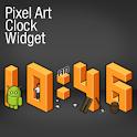 Pixel Art Clock Widget logo