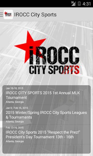 IROCC City Sports