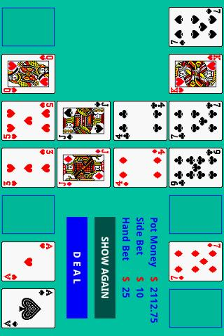 Pai Gow cards- screenshot