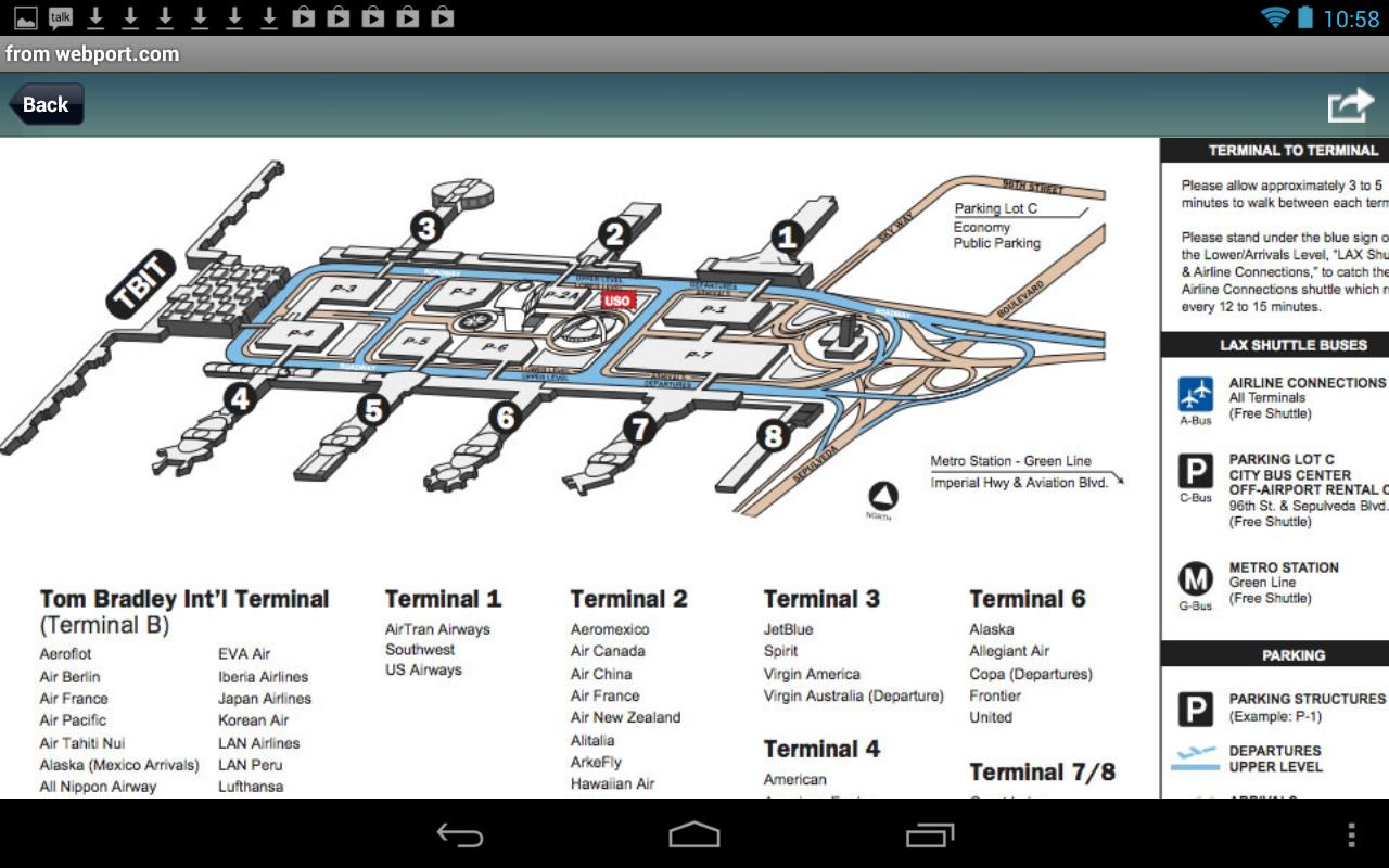 los angeles airport lax android apps on google play