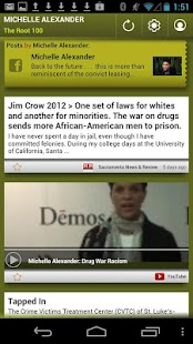 Michelle Alexander: The Root - screenshot thumbnail