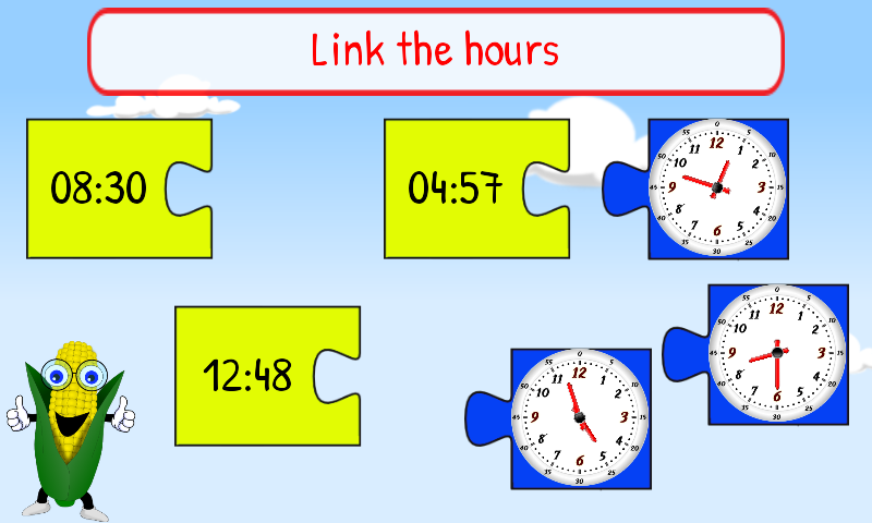 Tell Time for Kids First Grade - Android Apps on Google Play