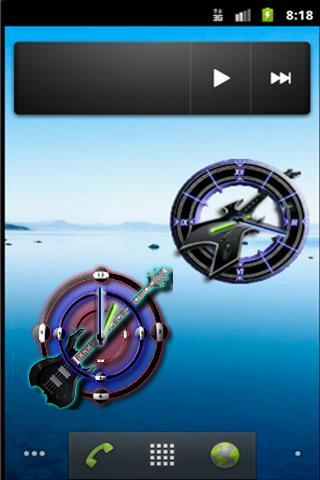 Bass Clock - screenshot