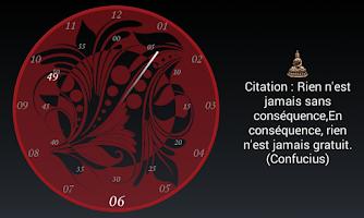 Screenshot of Chakra clock