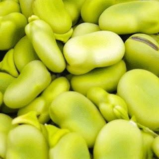 Kale and Fava Bean Pasta