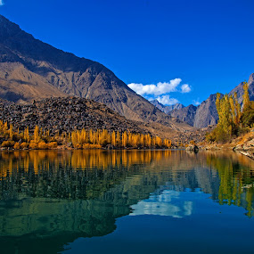 Reflected by Asmar Hussain - Landscapes Mountains & Hills