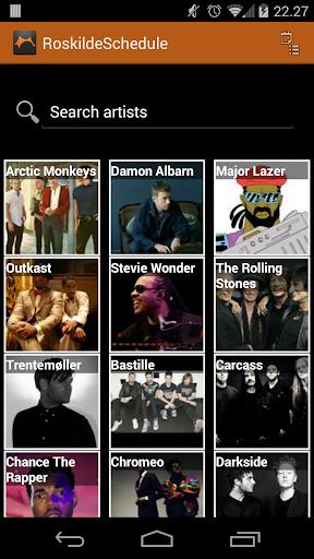 Roskilde Festival Schedule Fre