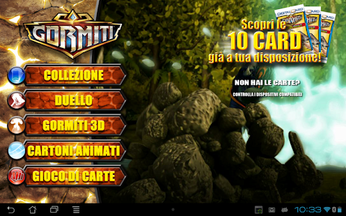 Gormiti Digital Card - screenshot thumbnail