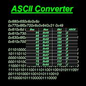ASCII Code Converter