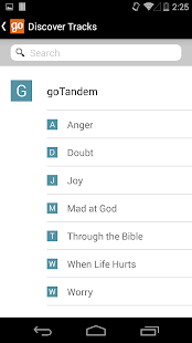 goTandem: Bible Engagement App- screenshot thumbnail