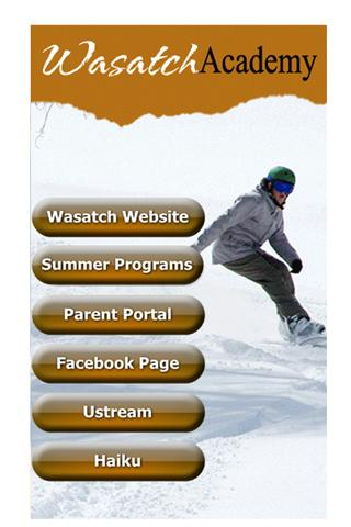 Wasatch Academy School- screenshot