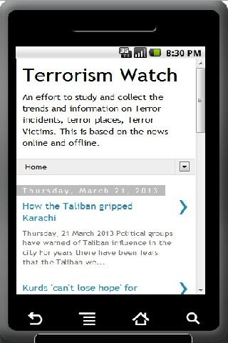 Terrorism Watch