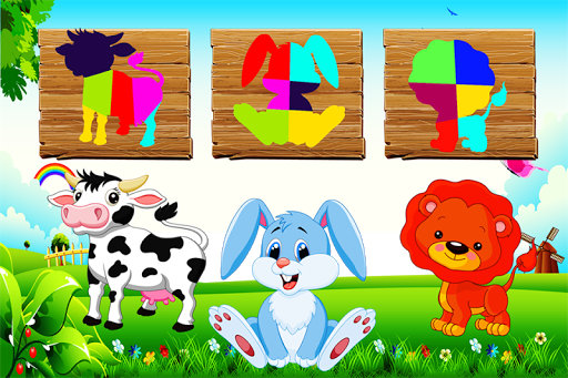 Baby Animals Puzzle Game