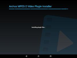 Screenshot of Archos MPEG-2 Video Plugin