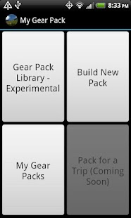My Gear Pack - screenshot thumbnail