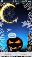 Screenshot of Halloween Ghosts Live Popper