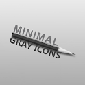 MINIMAL GRAY ICONS APEX NOVA icon