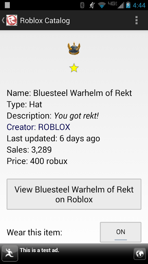 Roblox Catalog - screenshot