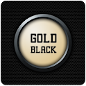 Leeks Gold-Black 고런처테마 (젤리빈지원) icon