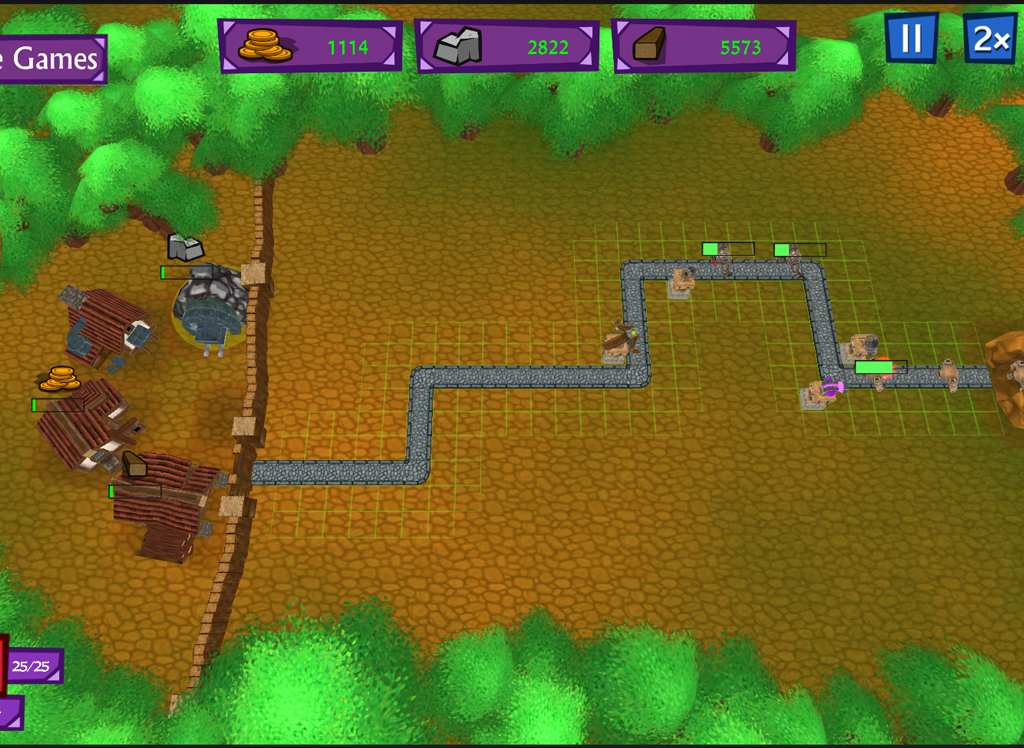 Castle Defense - Creature rush - screenshot