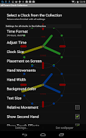 Screenshot of ARTware Clock Collection LWP
