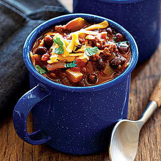 Turkey Black Bean Chili.