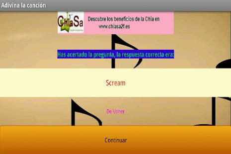 Adivina la musica screenshot