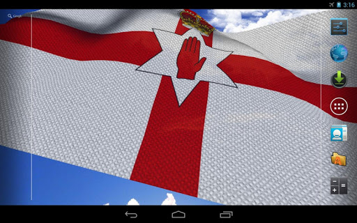 【免費個人化App】3D Northern Ireland Flag LWP-APP點子