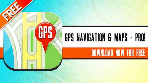 GPS 導航 地圖-PRO !