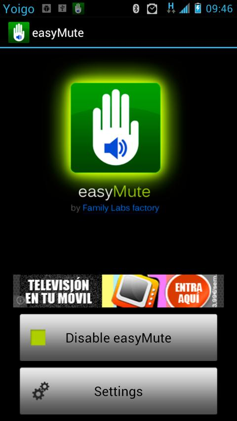 easyMute - screenshot
