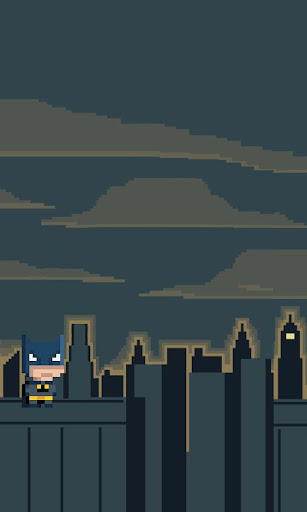 Batman Pixel Live Wallpaper