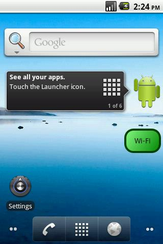 Network Switcher Widget - screenshot