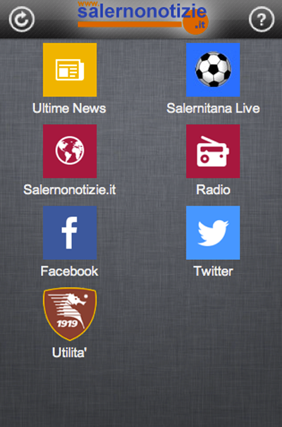 Salernitana SN - screenshot