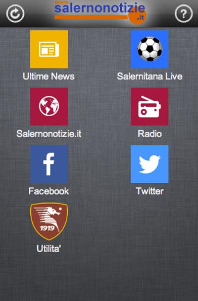 Salernitana SN - screenshot
