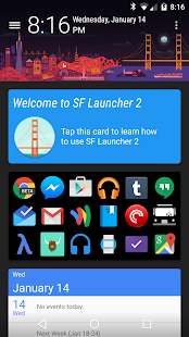 SF Launcher 2 - screenshot thumbnail