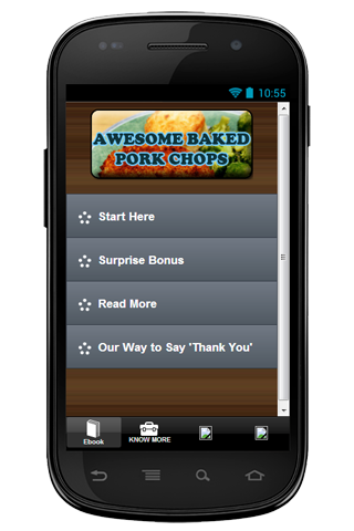 Recipe Awesome Baked Pork Chop