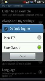 Classic Text To Speech Engine Screenshot 2