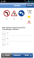 Screenshot of Theorieprüfung Auto 2015/16