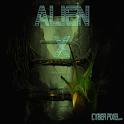 ALIEN X GO SMS Pro logo