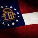 Georgia Flag Live Wallpaper icon
