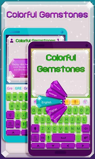 Gemstone GO Keyboard Theme